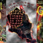 5 collages prepared for the Goddess Gambit web page