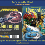 covers for Damnation Brigade graphic novel