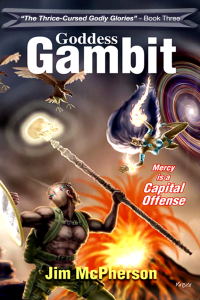 E-book cover for Goddess Gambit, artwork by Verne Andru