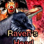 Collage of images prepared by Jim McPherson entitled Raven's Head