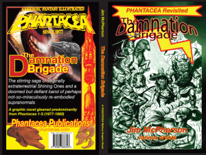"Tentative Front and Back Covers for ""Phantacea Revisited 1: The Damnation Brigade"""