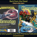 Covers for Phantacea Revisited 1: The Damnation Brigade