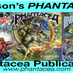 Artwork by Ian Bateson from Phantacea Publications series of comic books and graphic novels
