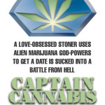 Backside of potential Captain Cannabis Business Card