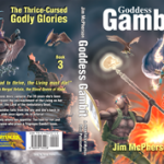 "Full Cover for ""Goddess Gambit"", artwork by Verne Andru 2011/12"