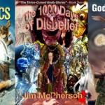 Covers for five full length Phantacea Mythos Novels