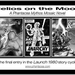 "Covers and/or splash panels reflecting action recounted in ""Helios on the Moon"""
