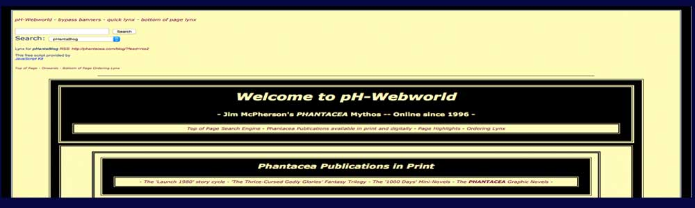 Screen of pH-Webworld's banner