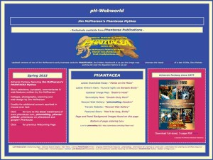 Welcoming portal for pH-Webworld as of Spring 2015