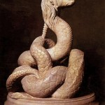 Glycon Rumanian Serpent God, image taken from Web