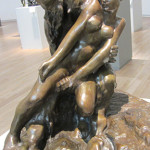 Statue of a faun groping a nymph, shot in Soumaya Museum by Jim McPherson, January 2016