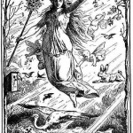 Drawing of Ostara by Johannes Gehrts taken from web