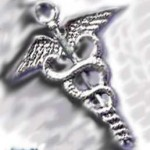 A hairpin shaped like a caduceus, image taken from web