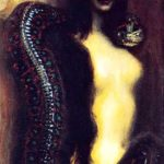 Sin personified by Franz Stuck, image taken from Web;