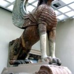 Sphinx shot in the Delphi Museum, taken in 2012 by Jim McPherson
