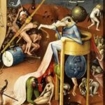 Hieronymus Bosch's Prince of Hell from the Garden of Earthly Delights