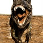 The Drumheller (Alberta) T-Rex, image taken from Web
