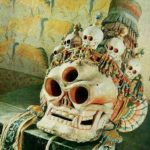 3-eyed Ornamental Skull from Tibet, image taken from Web