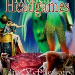 "Mock up done on Photoshop of potential front cover for ""Hidden Headgames"", cover collaage prepared by Jim McPherson, 2017"