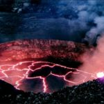 Caldera of the Kilauea volcano, image taken from Web