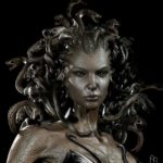 A live model Medusa, pinned fromg the Web