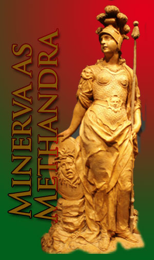 Minerva as Methandra, photo taken in Rome by Jim McPherson, 2008