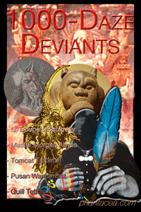Deviants collage prepared by Jim McPherson, 2011