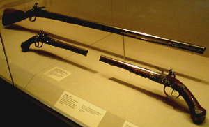 Flintlock guns, shot at NYC's Met Museum by Jim McPherson in 2009