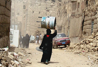 War in drought-ravaged Yemen, 2010, picture taken from Web