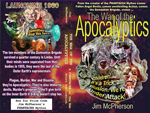 "A potential dust cover for ""The War of the Apocalyptics"", prepared on PHOTOSHOP by Jim McPherson, 2005"