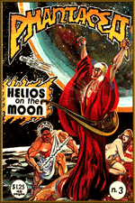 Front cover for pH-3, artwork by Richard Sandoval, 1978