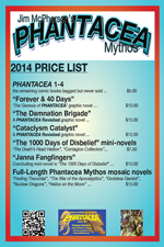 2014 Price List for Conventions attended by Jim McPherson