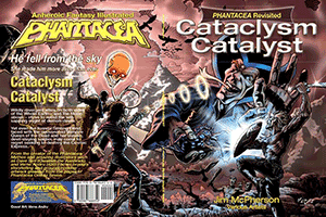Full cover for Cataclysm Catalyst, artwork by Verne Andru, 1980-2013