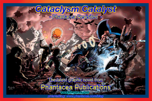 Wraparound covers for Cataclysm Catalyst, art by Verne Andru, 1980-2014