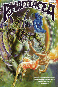 pH4 front cover, artwork by Ian Bateson, 1979