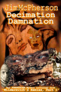 2004 Cover Collage for Decimation Damnation, prepared by Jim McPherson