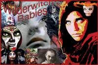 Witch Babies collages prepared by Jim McPherson, 2016, using mostly his own photos