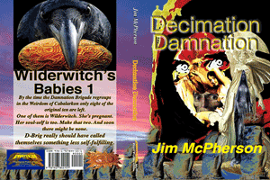 "Probable cover for digital edition of ""Decimation Damnation"""